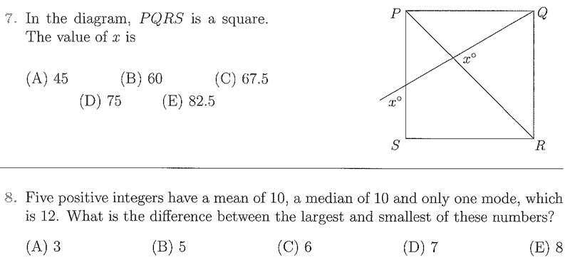 uk intermediate maths challenge past papers Ukmt junior maths challenge 2012 answers intermediate maths challenge the junior maths challenge loads of past maths challenge papers to help you practise on.
